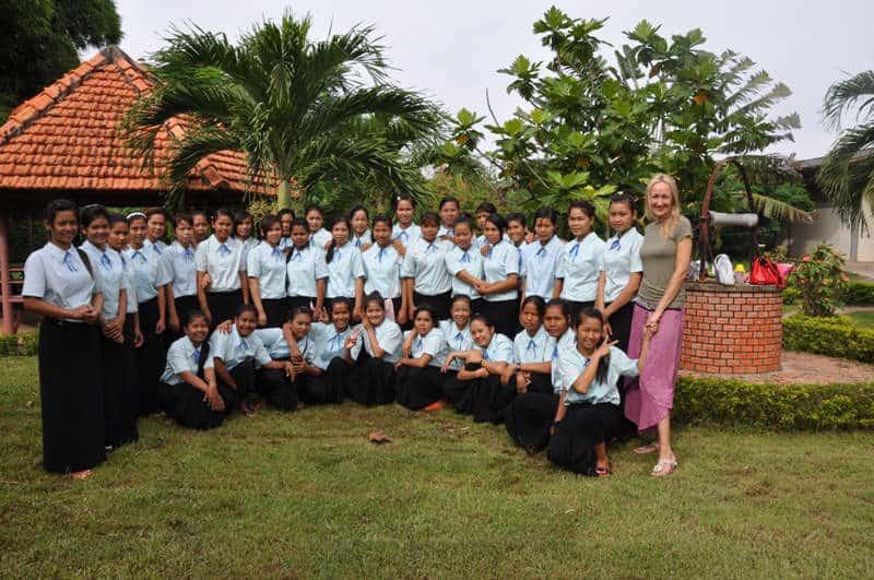 Cambogia volontariato Eli Sunday Siyabi