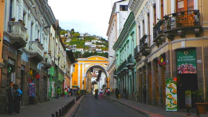 quito centro storico ecuador