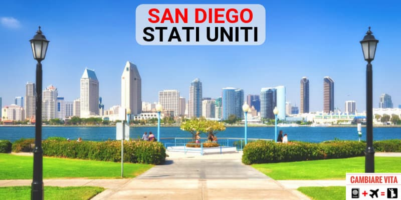 Trasferirsi lavorare vivere a San Diego Stati Uniti