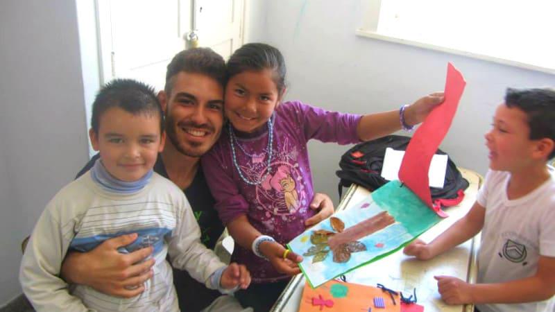 alessandro volontariato argentina