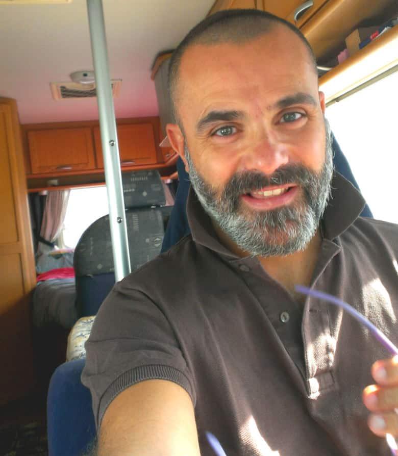Cristiano viaggiare in camper