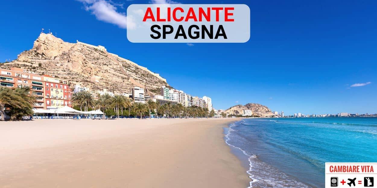 Lavorare Vivere ad Alicante Spagna