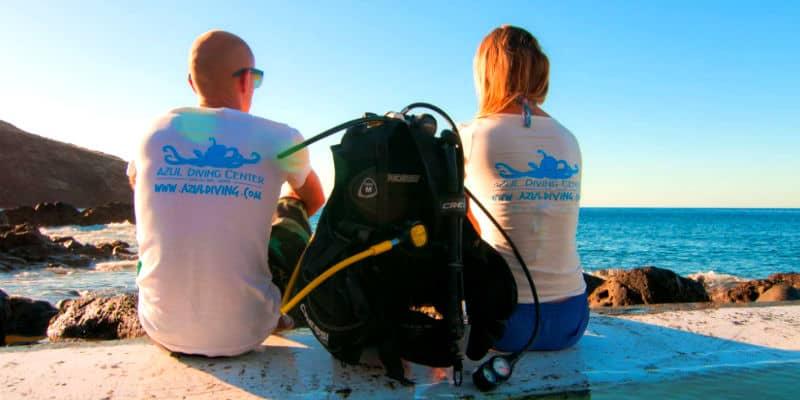 Istruttrice subacquea vivere in Portogallo