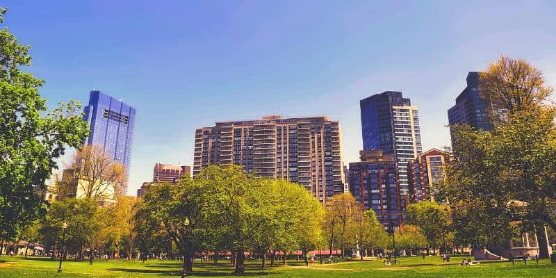lavorare vivere boston stati uniti
