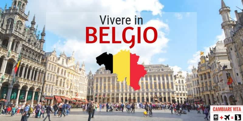 vivere lavorare in belgio