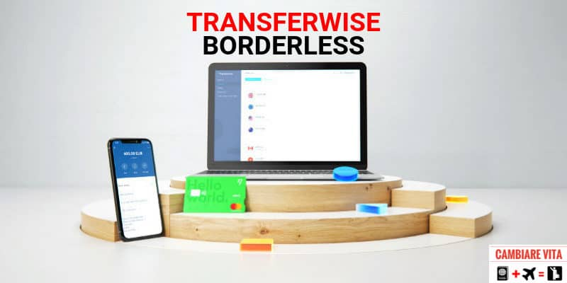 Conto Transferwise Borderless account