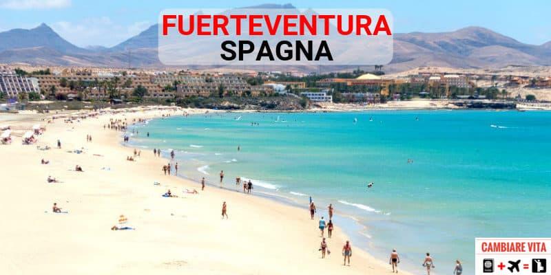 Lavorare Vivere a Fuerteventura Spagna