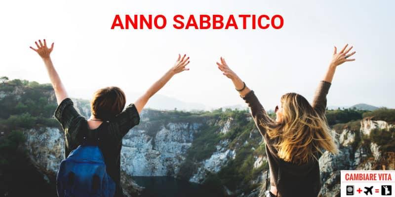 Anno Sabbatico gap year
