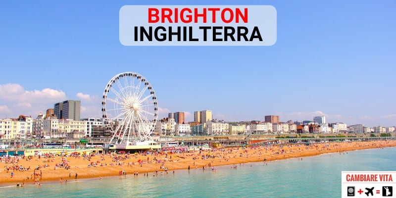 Lavorare Vivere Brighton Inghilterra