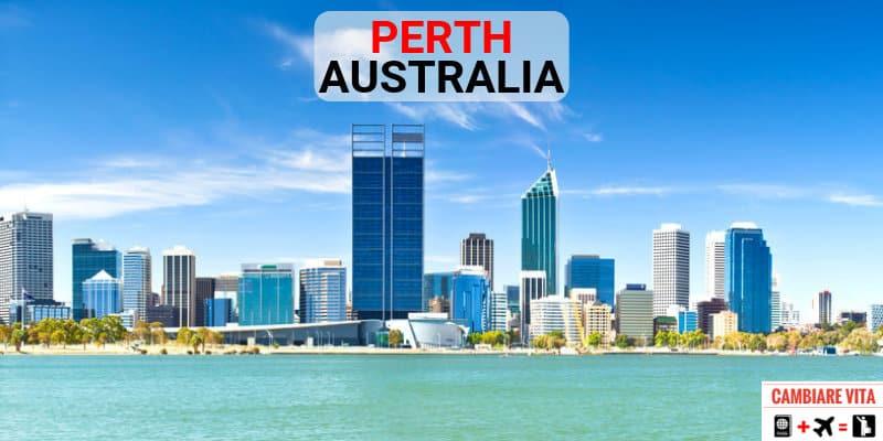 Lavorare Vivere a Perth Australia