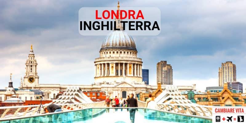 Trasferirsi Vivere Lavorare a Londra