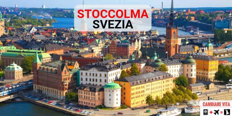 Trasferirsi Vivere Lavorare a Stoccolma Svezia