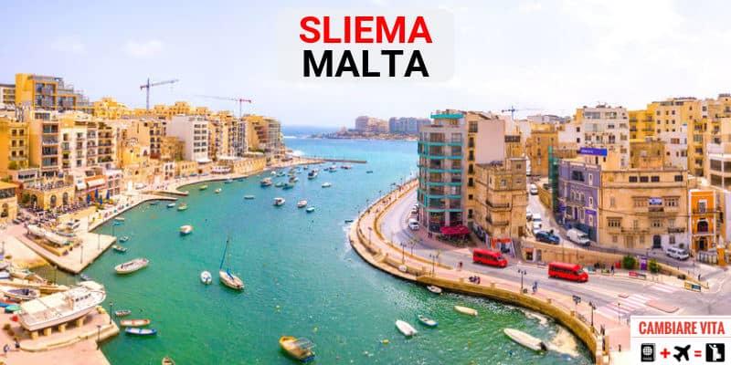 Vivere Lavorare a Sliema Malta