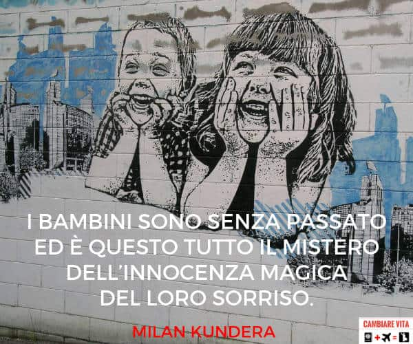 frasi sul sorriso dei bambini