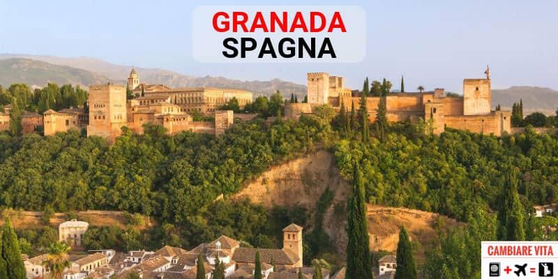 Lavorare Vivere a Granada Spagna