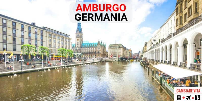 lavorare vivere a amburgo germania