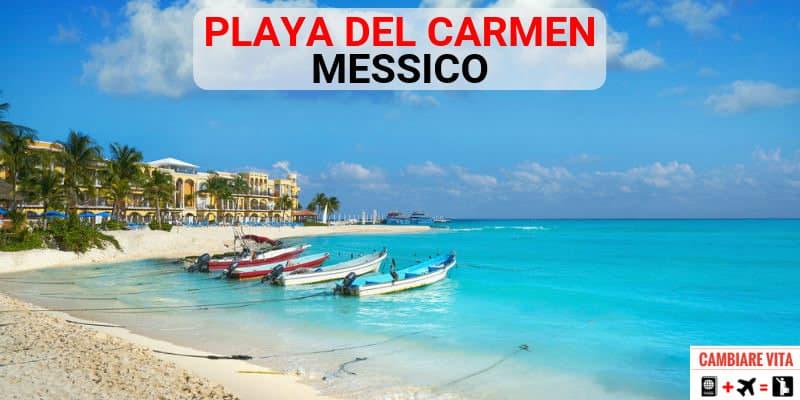 Lavorare Playa del Carmen Messico