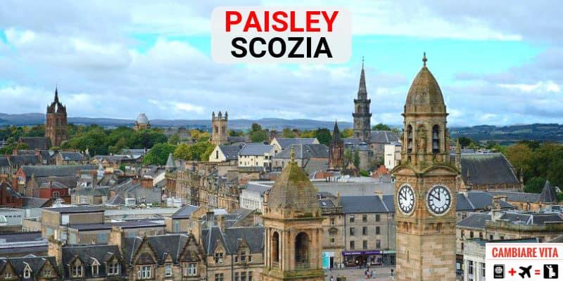 Vivere lavorare Paisley Scozia