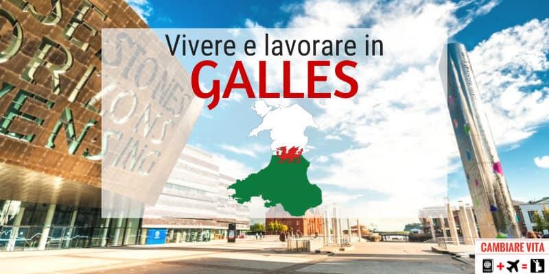 lavorare vivere in Galles