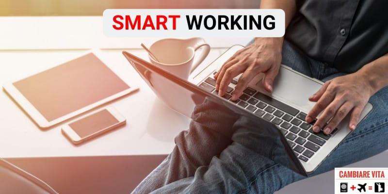Smart Working lavorare da casa