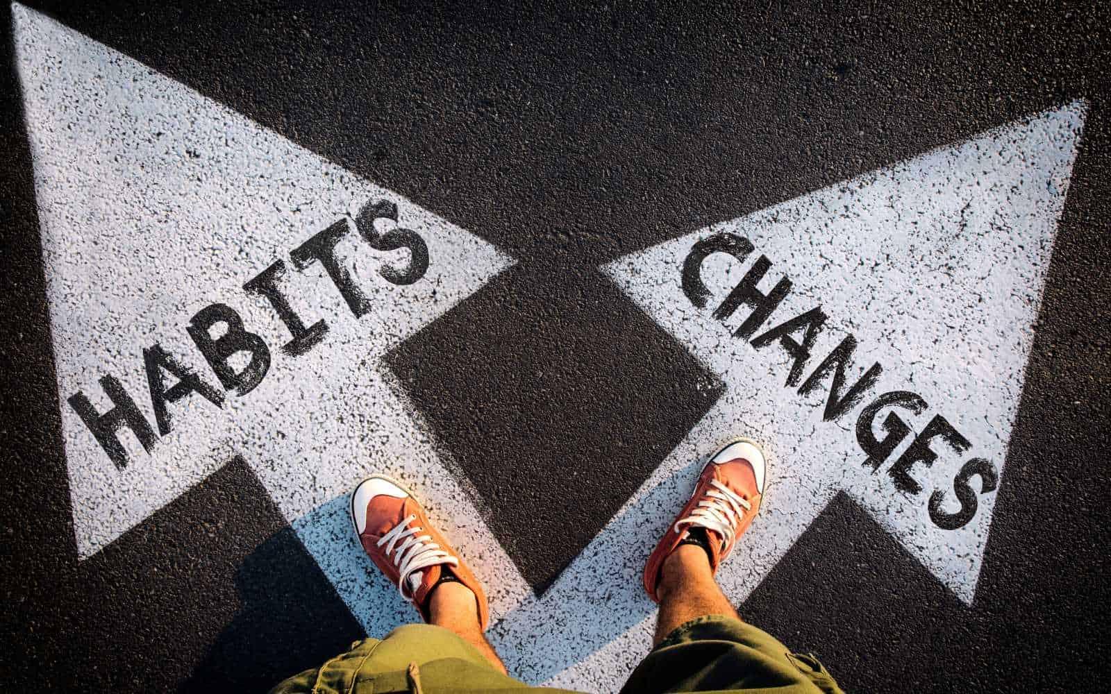 vivere cambiare abitudini