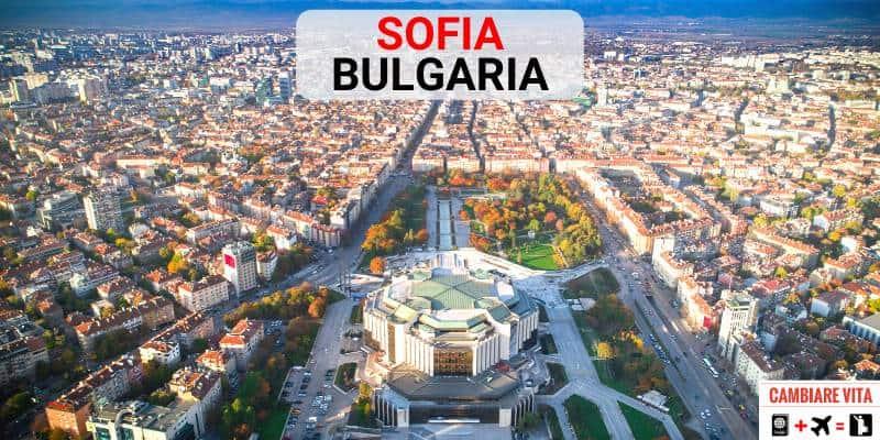 Lavorare Vivere Sofia Bulgaria