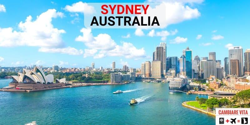 Lavorare Vivere Sydney Australia