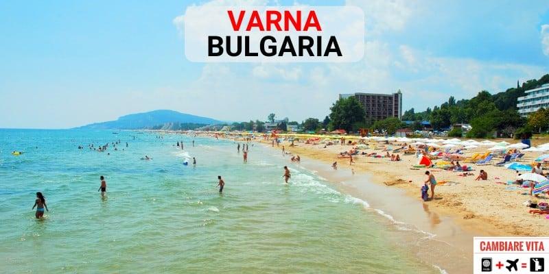 Lavorare Vivere Varna Bulgaria