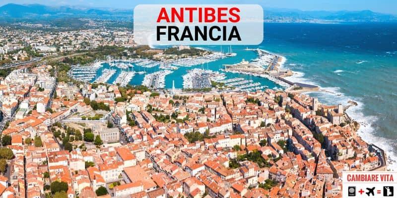 Lavorare Vivere Antibes Francia