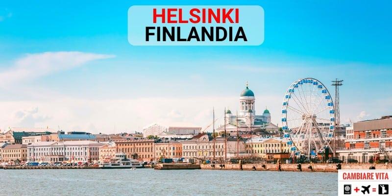 Lavorare Vivere a Helsinki Finlandia