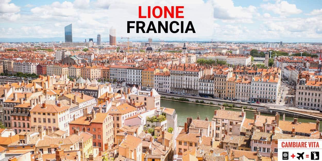 Lavorare Vivere Lione Francia