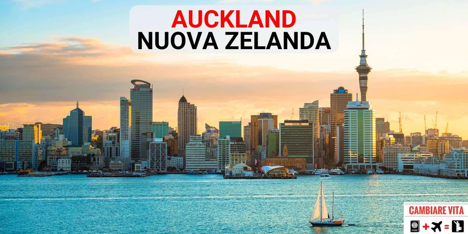 Lavorare Vivere Auckland Nuova Zelanda