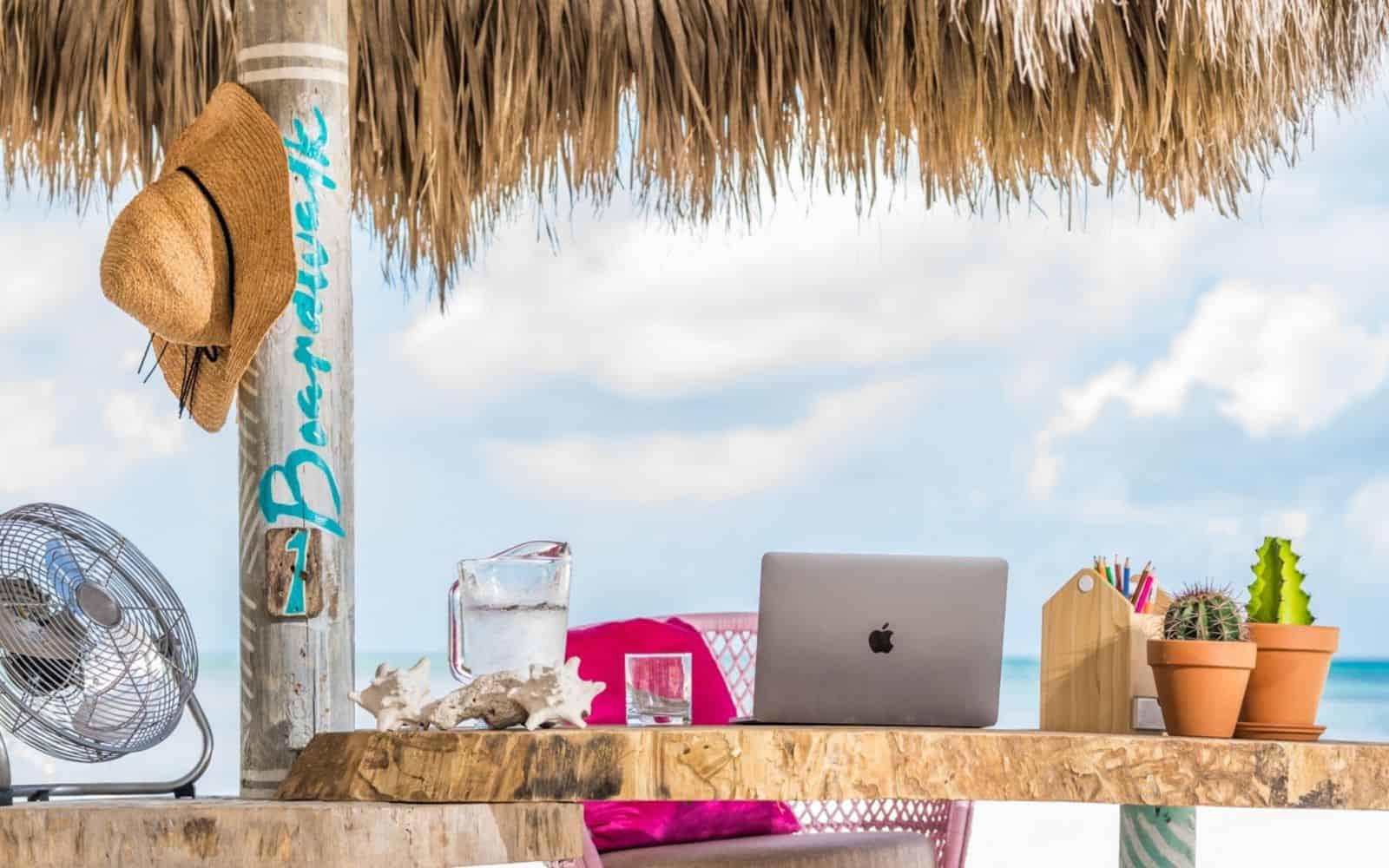 workation Aruba lavoro remoto